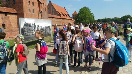 Castrum  et monasterium, czyli 4a i 5b na wycieczce w Malborku