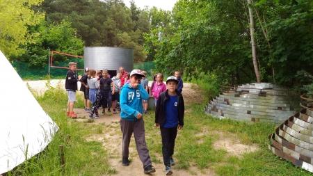 klas 4B i 4C wybrali się na wycieczkę integracyjną do Adventure Park Kolibki