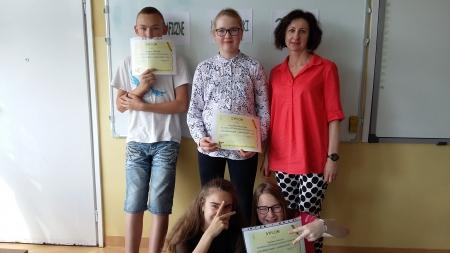 """Międzyszkolny Konkurs """"Ortograficzne Łamigłówki"""" - Wojewódzki Projekt K"""