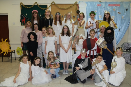 Konkurs mitologiczny dla klas piątych- rozstrzygnięty