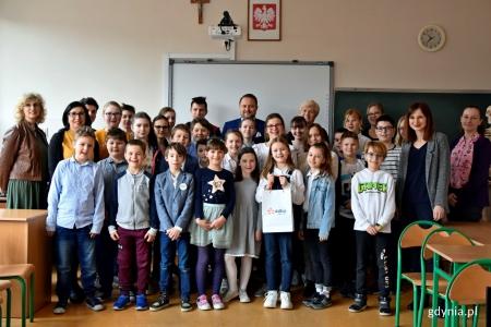 III miejsce w konkursie Strażników Energii i wizyta wiceprezydenta Gdyni w naszej szkole
