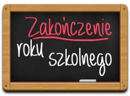 Zakończenie roku szkolnego 2019/2020