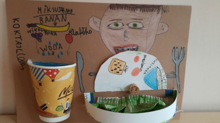 """Wyniki konkursu plastycznego """"Moje zdrowe śniadanie"""""""