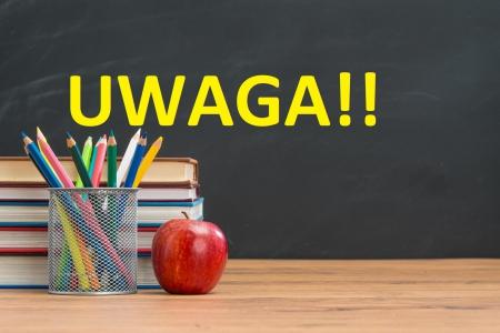UWAGA!!! Od poniedziałku 22.02 do 26.02 - klasy 0 - 3 przechodzą na zdalne nau